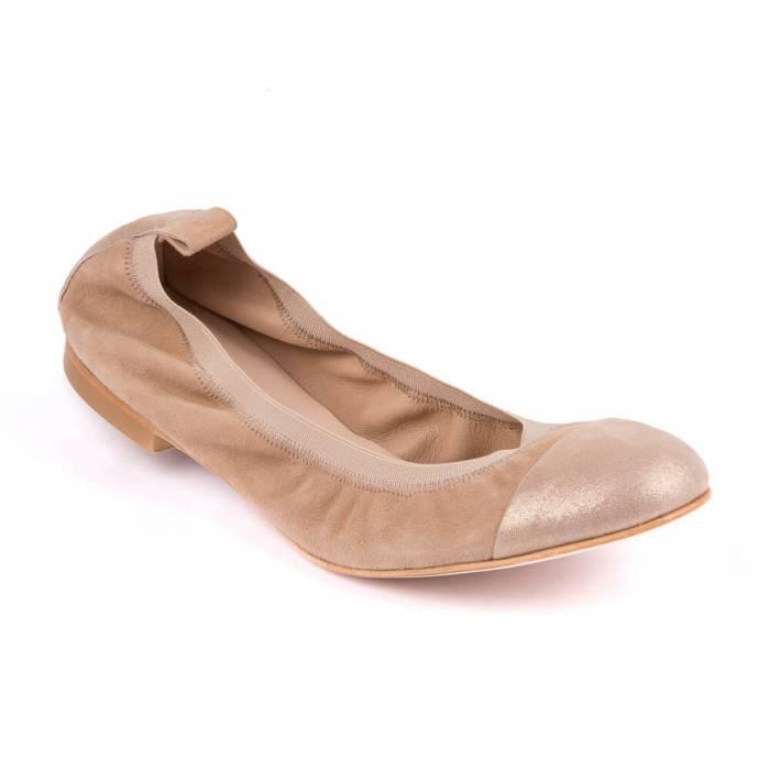 Ballerina bicolor Marrone chiaro