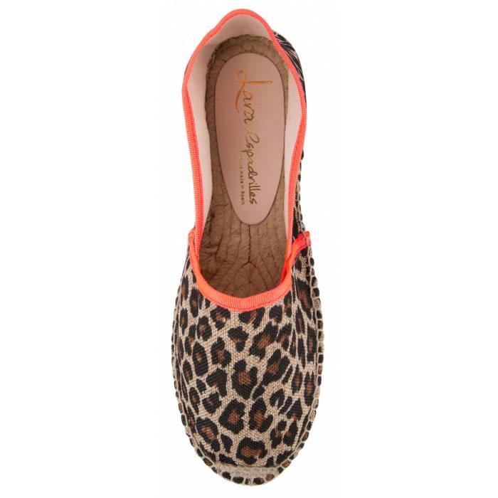 Espadrillas leopardata