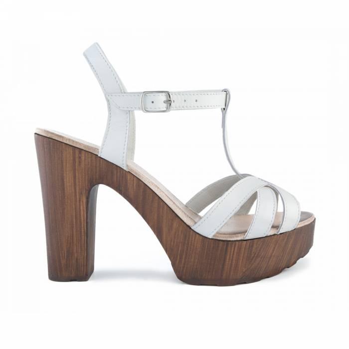 Sandalo 4498 Bianche