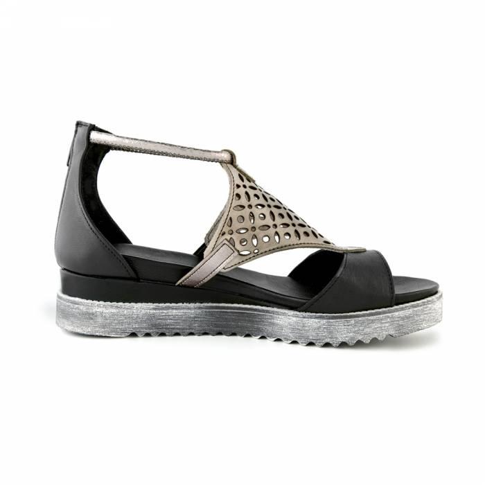 Sandalo abudabi Nere
