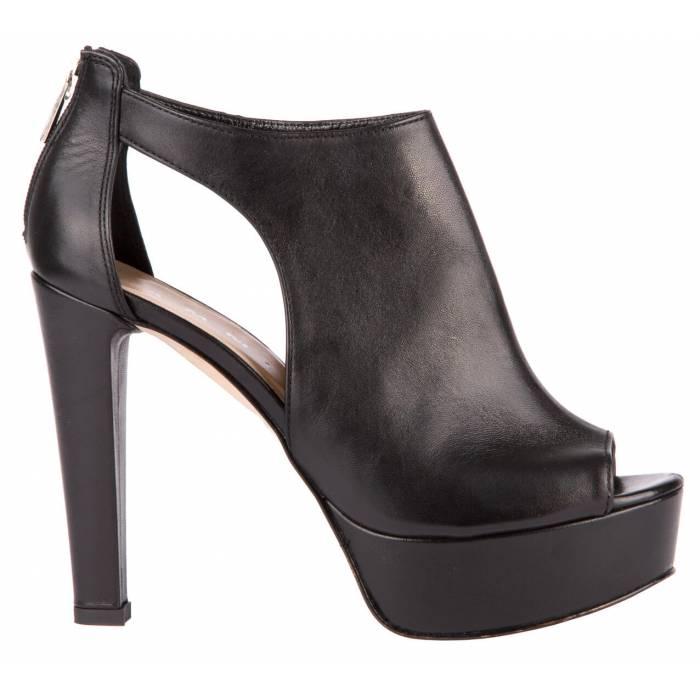 Sandalo con cerniera Nere