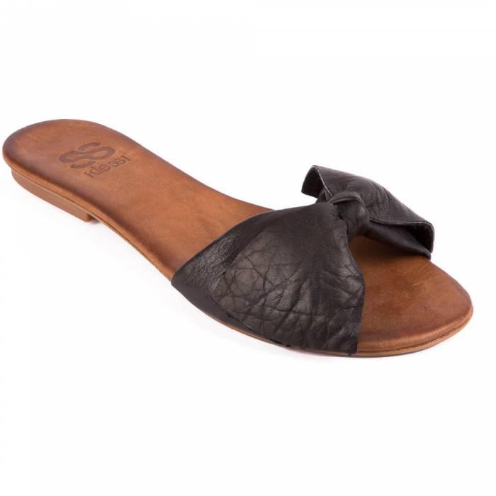 Sandalo con fiocco Nere