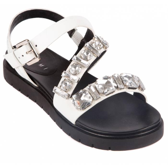 Sandalo con pietre