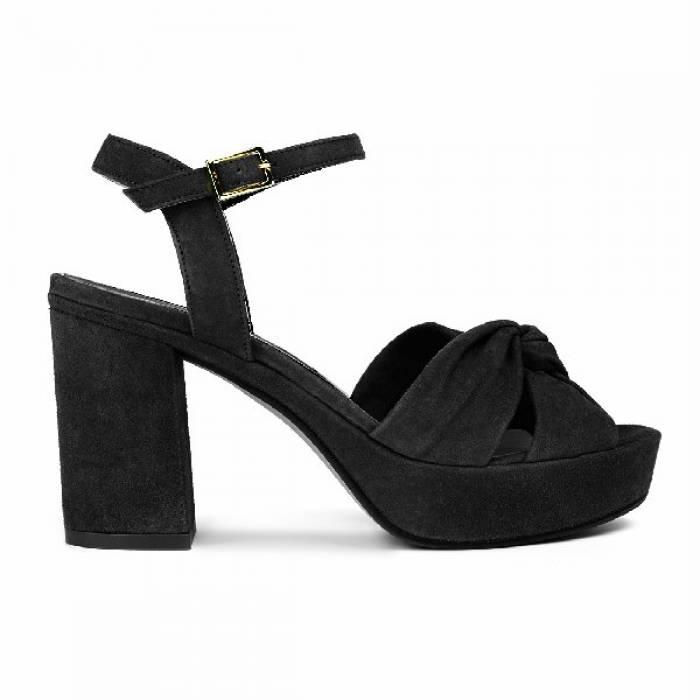Sandalo con tacco 1990 Nere