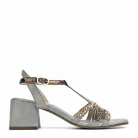 Sandalo con tacco 2618