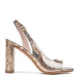 Sandalo con tacco 4018