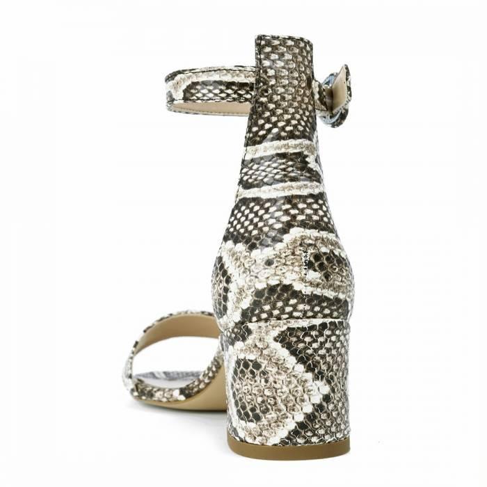 Sandalo con tacco 669 Snake