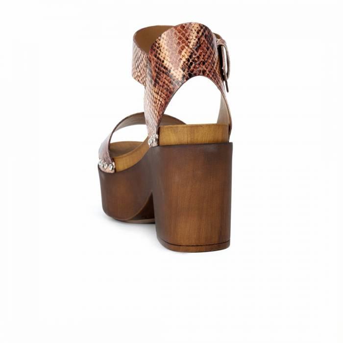 Sandalo con tacco 9096