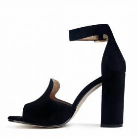 Sandalo con tacco N026
