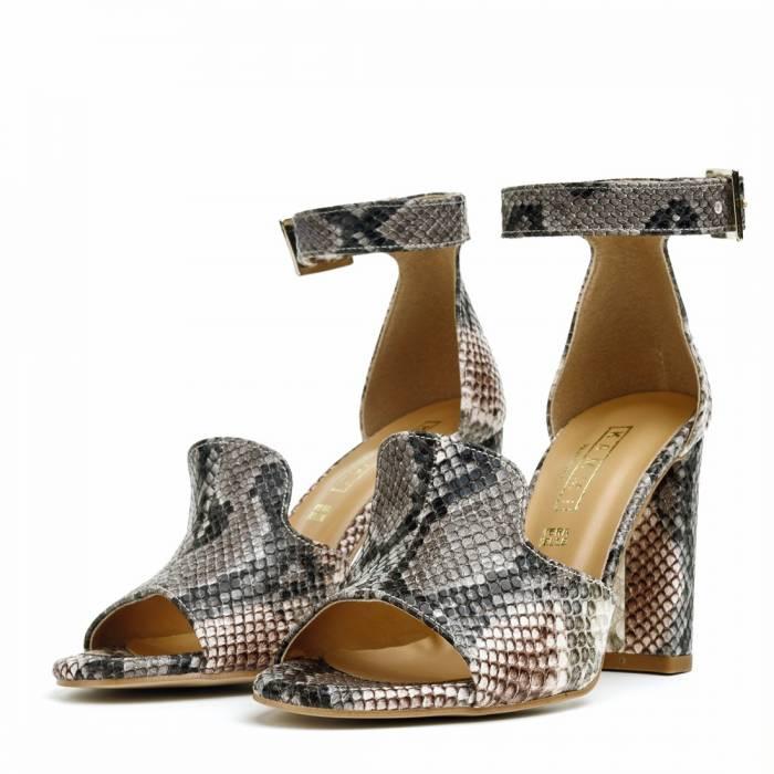 Sandalo con tacco NO26