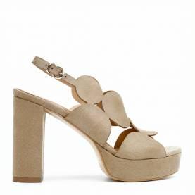 Sandalo con tacco PL010