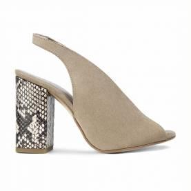 Sandalo con tacco Q001 Piton