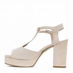 Sandalo con tacco TI