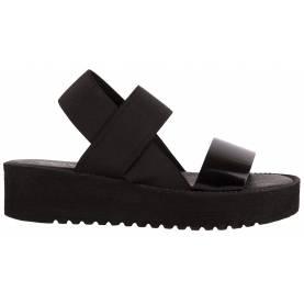 Sandalo con zeppa