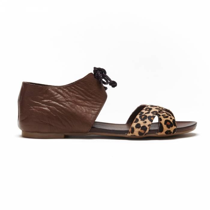 Sandalo Dark Brown Marroni