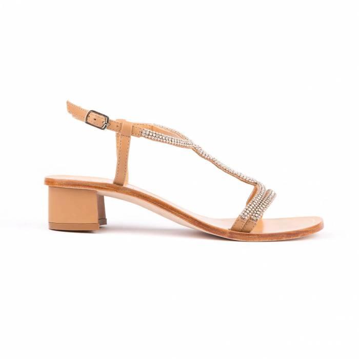 Sandalo gioiello Beige