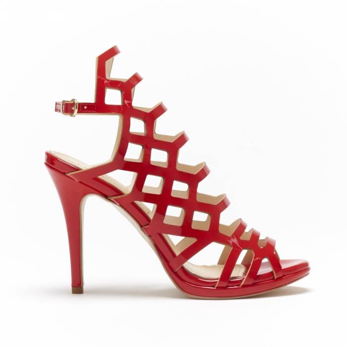 Sandalo Glamour Rosse