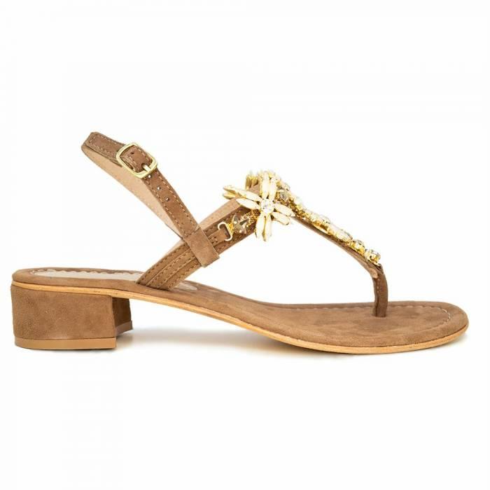 Sandalo infradito 47 H1 Beige