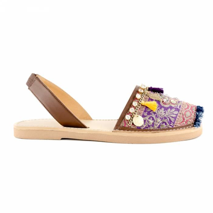 Sandalo Medenine Viola