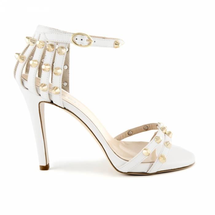 Sandalo Riccione Bianche