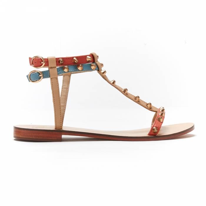 Sandalo Roma Beige