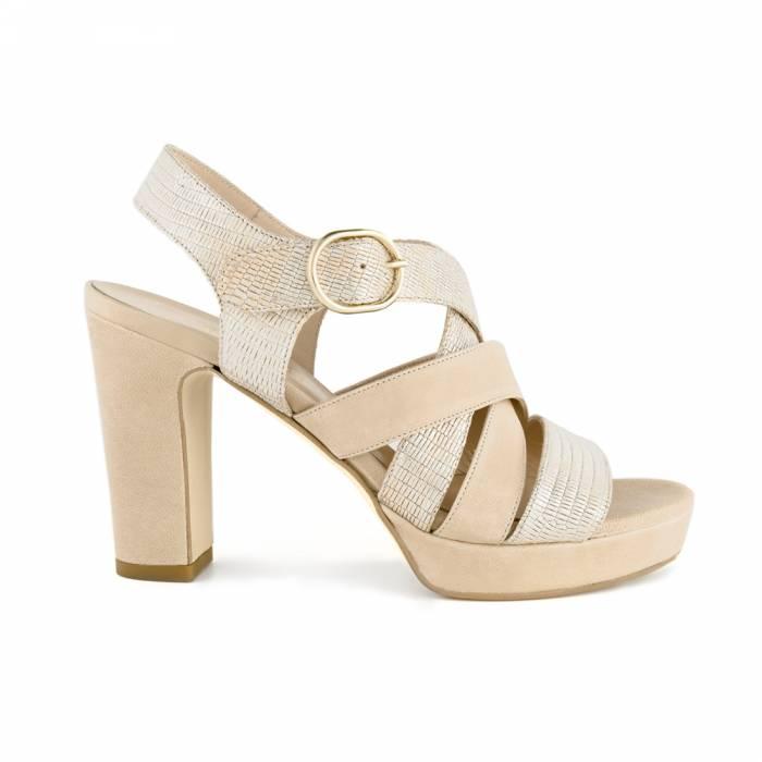 Sandalo Samantha Beige