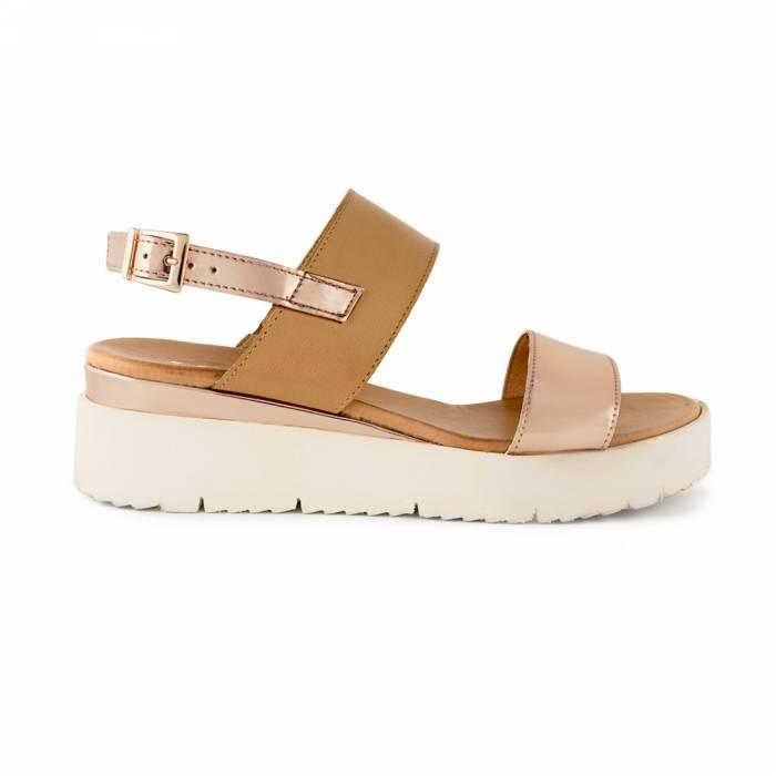 Sandalo selena Marroni