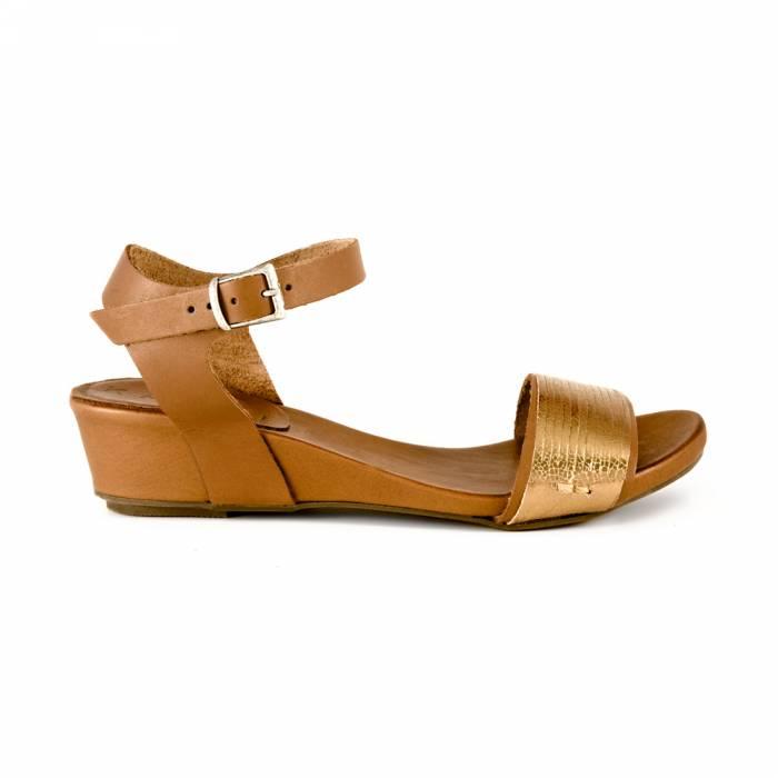Sandalo Twist Marroni