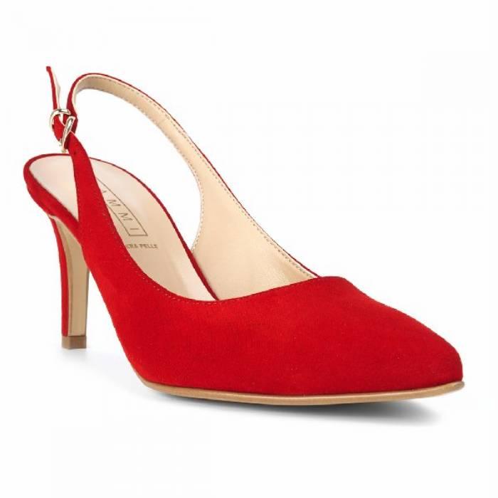 scarpa con tacco s010 cam rosse scarpe made in italy scarpa con tacco s010 cam