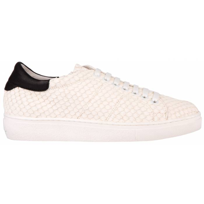 Snake Skin Sneakers Bianche
