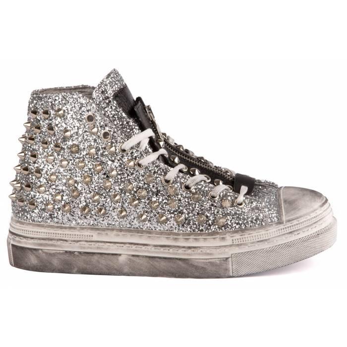 Sneaker con borchie Grigie