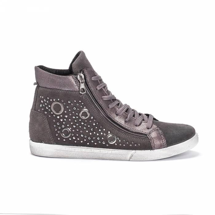 Sneakers 177 Occhielli Grigie