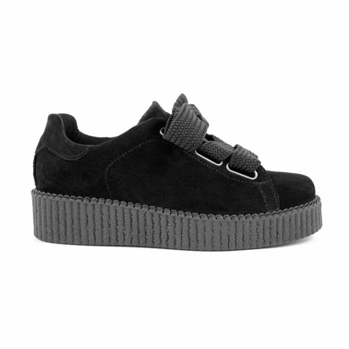 Sneakers Andria Camoscio Nere