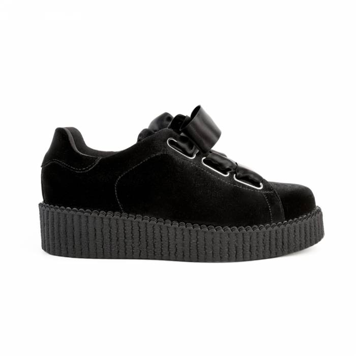 Sneakers Andria Velluto Nere
