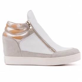 Sneakers con cerniera
