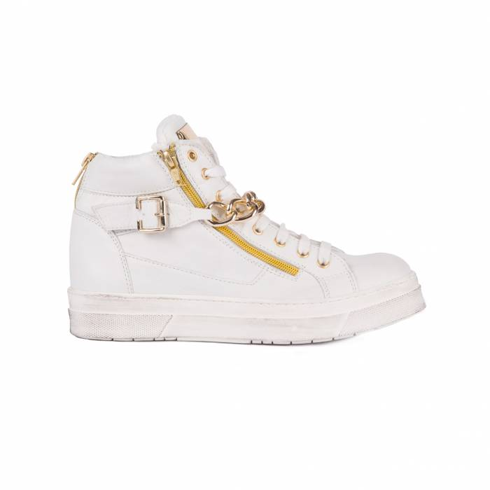 Sneakers Fashion White Bianche