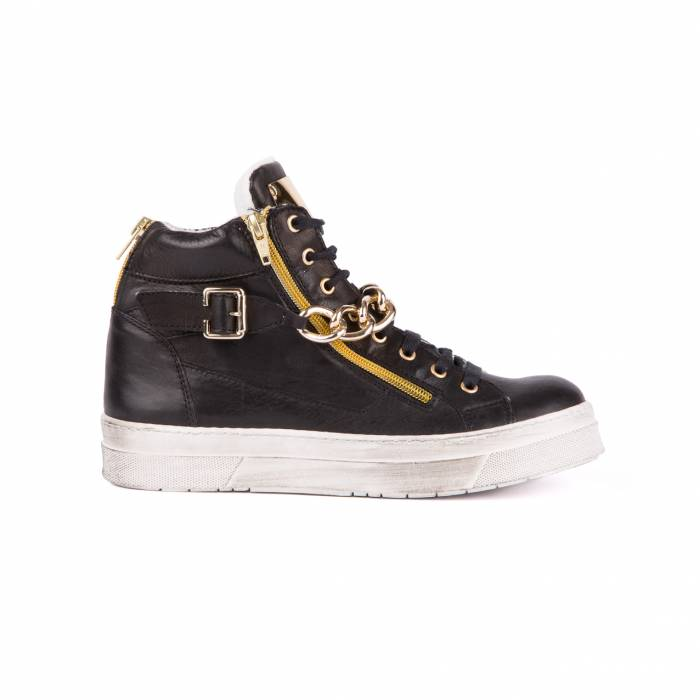 Sneakers Fashion White Nere