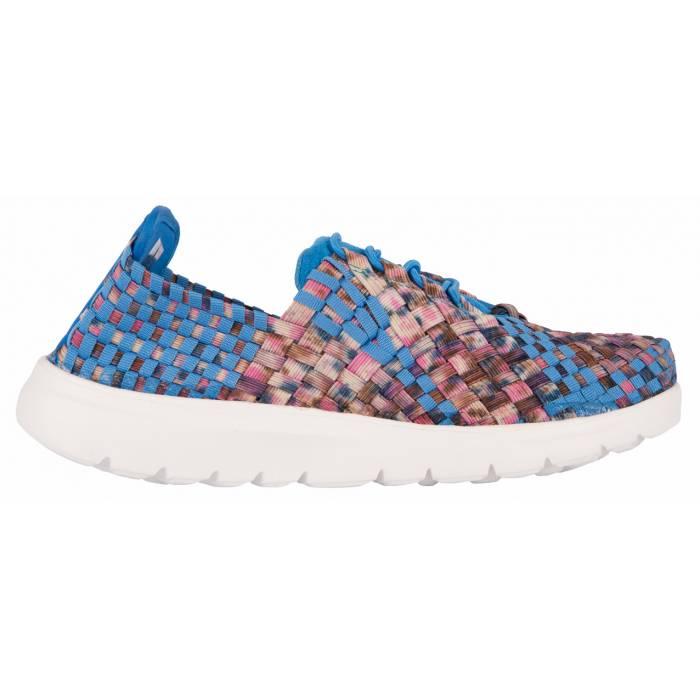 Sneakers Intrecciata Azzurre