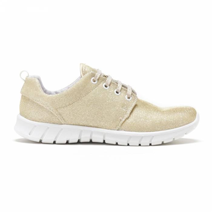 Sneakers Lamè Oro