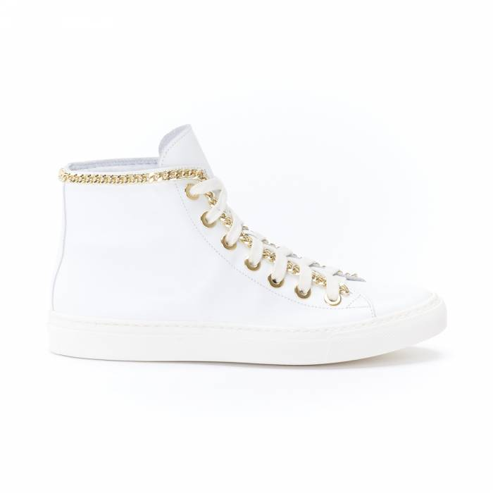 Sneakers Mid 141 Bianche
