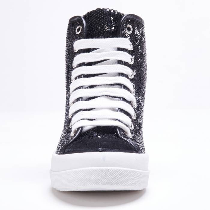 Sneakers Mid Paillettes
