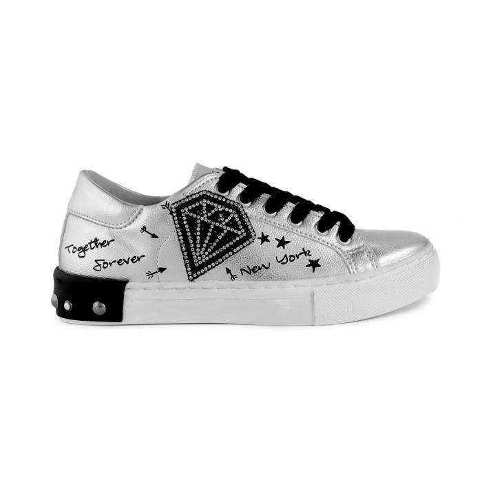 Sneakers New York Grigio chiaro