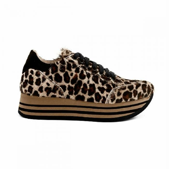 Sneakers Shine 03 Marrone chiaro