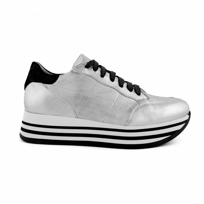 Sneakers Shine Grigio chiaro