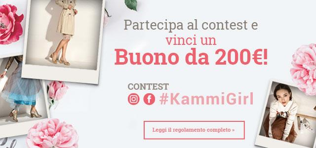 Partecipa al contest #KammiGirl