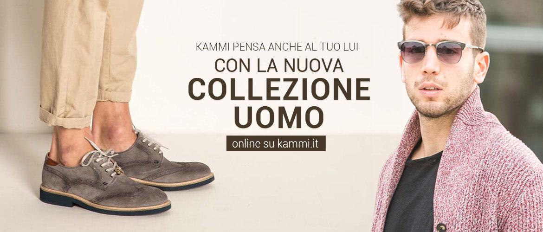Kammi pensa anche a Lui con la nuova Collezione Uomo