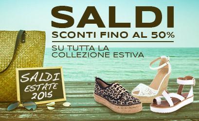 Saldi Estate 2015 -Sconti fino al 50% su tutta la collezione estiva