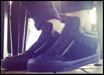 sneakers da donna con dettagli sparkling.